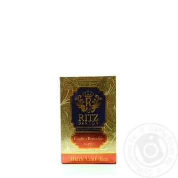 Чай Ritz Barton English Breakfast 100г