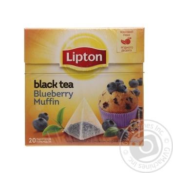 Чай Lipton Blueberry черный 20шт*1.8г