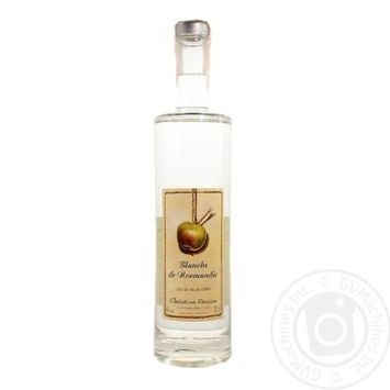 Christian Drouin Blanche de Normandie Calvados 40% 0.7l