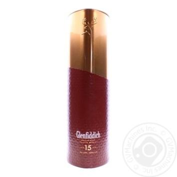 Виски Glenfiddich 15 лет 40% 0,7л