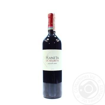 Planeta La Segreta Red Dry Wine 13% 0.75l - buy, prices for CityMarket - photo 1