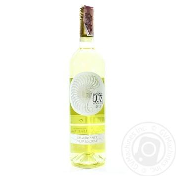 Вино Campos de Luz Chardonnay Viura & Muscat белое сухое 13% 0,75л