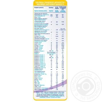 Смесь молочная Нестле Нан 2 Гипоаллергенный сухая для детей с 6 месяцев 400г - купить, цены на Метро - фото 2
