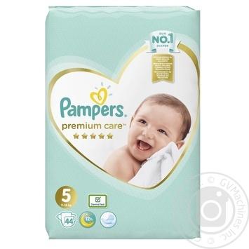 Подгузники Pampers Premium Care 5 Junior 11-16кг 44шт - купить, цены на МегаМаркет - фото 2