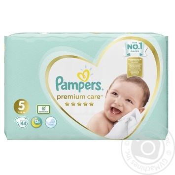 Подгузники Pampers Premium Care 5 Junior 11-16кг 44шт - купить, цены на МегаМаркет - фото 3