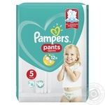 Підгузки-трусики Pampers Pants 5 Junior 12-17кг 15шт - купити, ціни на Novus - фото 3