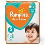 Подгузники Pampers Slee&Play 5 Junior 11-16кг 42шт - купить, цены на Novus - фото 3