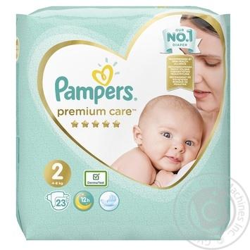 Подгузники Pampers Premium Care 2, 4-8 кг 23шт - купить, цены на Novus - фото 2