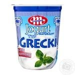 Йогурт Mlekovita Грецький натуральний 9% 400г