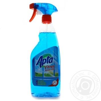 Засіб для миття вікон та скла (з розпилювачем), APTA 0,75л