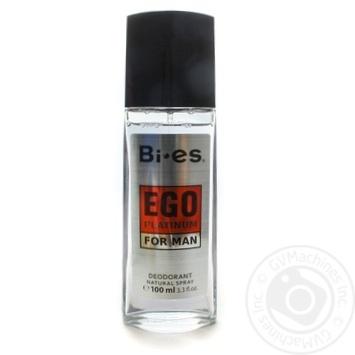 Дезодорант спрей Bi-es Ego Platinum для чоловіків 100мл - купити, ціни на ЕКО Маркет - фото 1