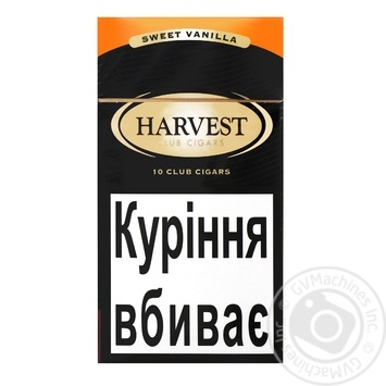Сигариллы Harvest Club Sweet Vanilla 10шт
