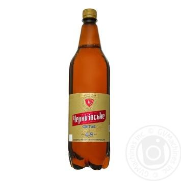 Пиво Черниговское светлое 4,8% 1,15л