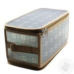 Короб для хранения Handy Home на молнии серый 30х15х15см