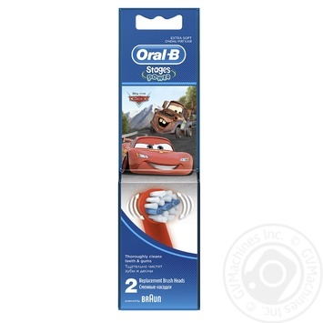 Oral-B Replacement Brush Heads for Electric Toothbrush with Disney characters 2pcs - buy, prices for Novus - image 1