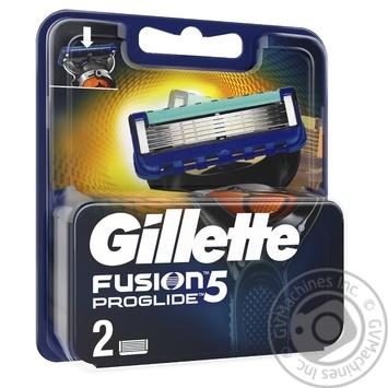 Змінні картриджі для гоління Gillette Fusion5 Proglide 2шт - купити, ціни на Novus - фото 3