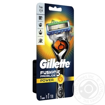 Gillette Fusion5 Power Flexball razor with 1 replaceable cartridge - buy, prices for Novus - image 2