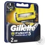 Касети для гоління Gillette Fusion ProShield змінні 2шт - купити, ціни на Восторг - фото 2
