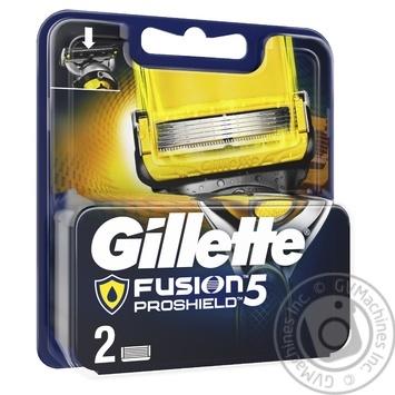 Картриджи для бритья Gillette Fusion5 ProShield сменные 2шт - купить, цены на Восторг - фото 2