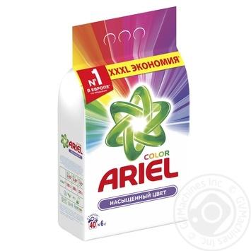 Пральний порошок Ariel Color автомат 6кг - купити, ціни на Метро - фото 2