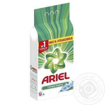 Стиральный порошок Ariel Горный родник автомат 9кг - купить, цены на Метро - фото 2