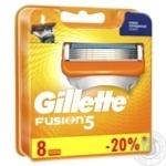 Картриджи для бритья Gillette Fusion5 сменные 8шт - купить, цены на Таврия В - фото 2