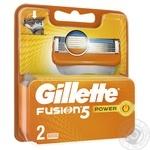 Картриджи для гоління Gillette Fusion Power змінні 2шт - купити, ціни на Восторг - фото 3