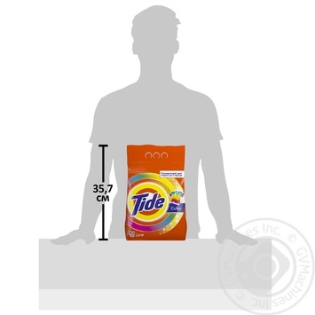 Tide Color Automat Laundry Detergent Powder 2,4kg - buy, prices for Metro - image 2