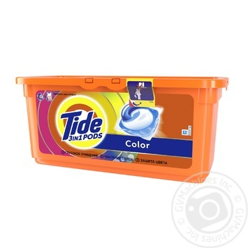 Tide Pods 3in1 Color Washing Capsules 30pcs 24,8g - buy, prices for Tavria V - image 2
