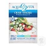 Крабовые палочки Aqua Vita замороженные 400г