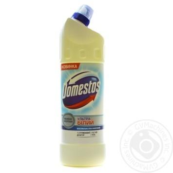 Domestos Эксперт сила 7 Чистящее средство для унитаза Ультра белый 1л