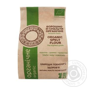Борошно Galeks Agro зі спельти органічне 1кг - купити, ціни на МегаМаркет - фото 1