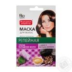 Маска для волосся Фіто Косметик Реп'яхова з какао і яєчним жовтком 30мл