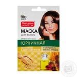 Маска для волосся Фіто Косметик Гірчична з касторовою олією і медом 30мл