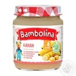 Puree Bambolina banana for children from 6 months 100g
