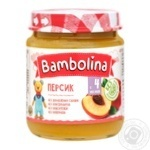 Bambolina Puree Peach 100g