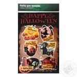 Набор праздничный Креатив-принт Happy Halloween для украшения - купить, цены на Varus - фото 1