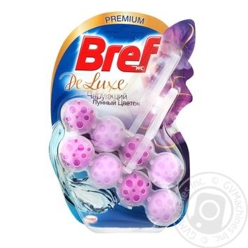 Блок туалетний Bref Делюкс Moonflower 2*50г - купити, ціни на Метро - фото 1