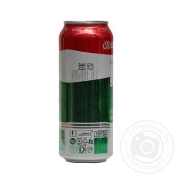 Пиво Оболонь Світле пастеризоване 4.5%об. 500мл - купити, ціни на Novus - фото 3
