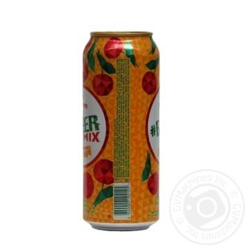 Пиво Оболонь Beermix Вишня спеціальне світле 2,5% 0,5л - купити, ціни на МегаМаркет - фото 2