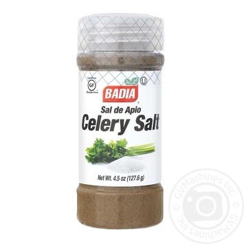 Приправа сельдерей с солью Badia 127,6г - купить, цены на Novus - фото 1
