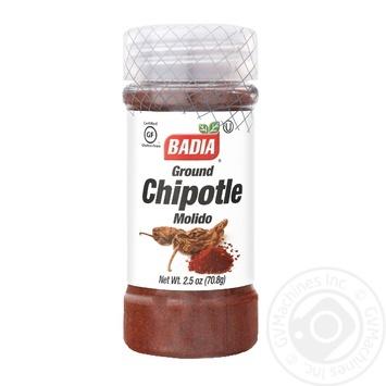 Приправа Badia перец чипотле молотый 70,8г - купить, цены на Novus - фото 1
