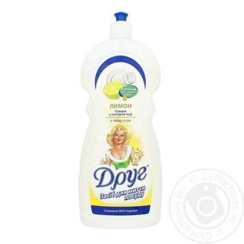 Засіб для миття посуду Друг Лимон 1л - купити, ціни на Фуршет - фото 1
