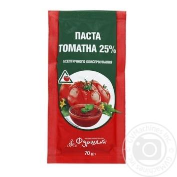 Паста томатна саше 25% Фуршет 70г