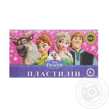 Пластилин Мицар Frozen 6 цветов 105г Ц558010У