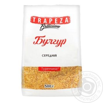 Булгур средний Trapeza 500г - купить, цены на Фуршет - фото 1