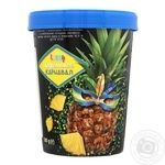 Морозиво Laska Бразильський Карнавал з ананасовим наповнювачем 500г