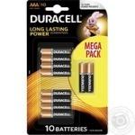 Батарейки Duracell AAA 10шт