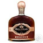 Коньяк Bolgrad Superior 3 зірки 40% 0,5л