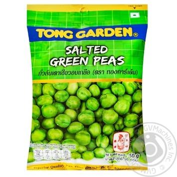 Снек горох смажений Tong Garden 50г - купить, цены на Novus - фото 1